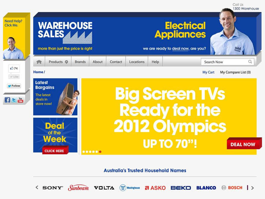 BigCommerce Online Store - Warehouse Sales-bigcommerce features