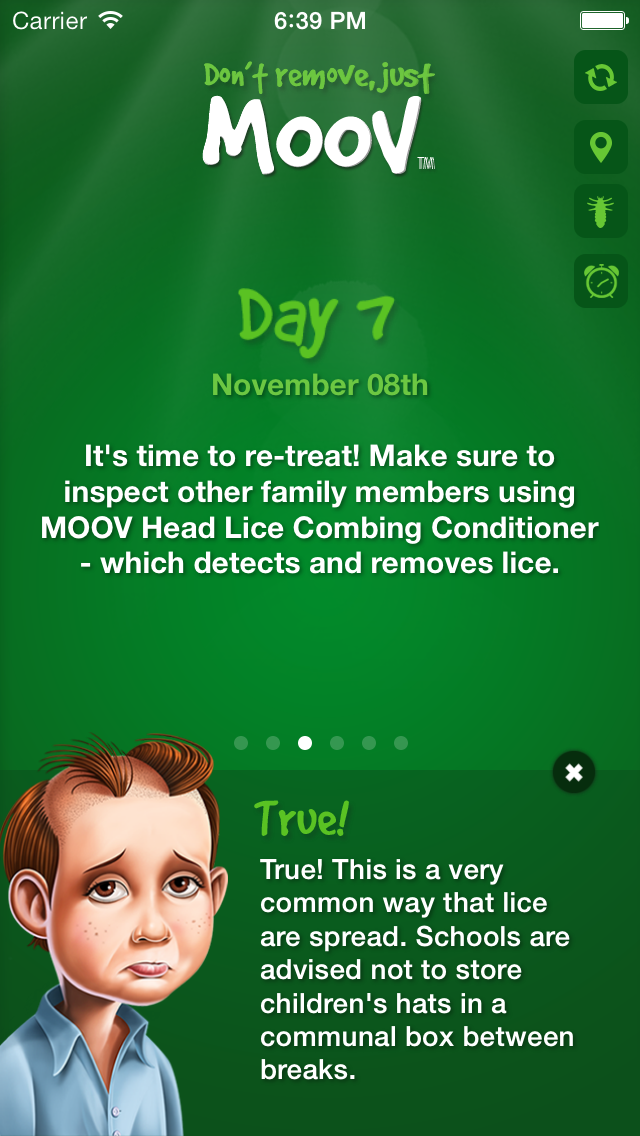 Effective Headlice Treatment: Moov It or Lose It   A