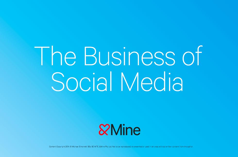 social media strategy Melbourne