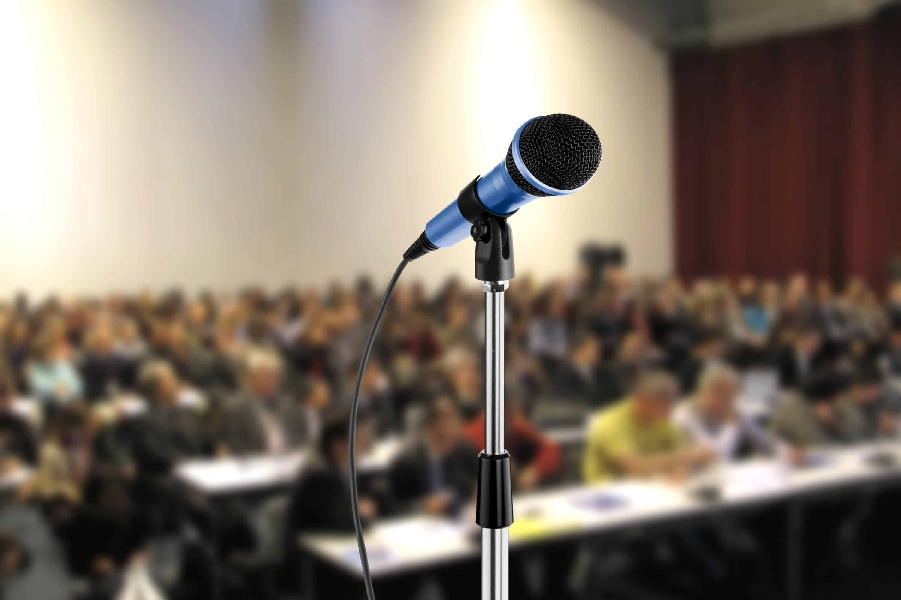 Speaking and conferences