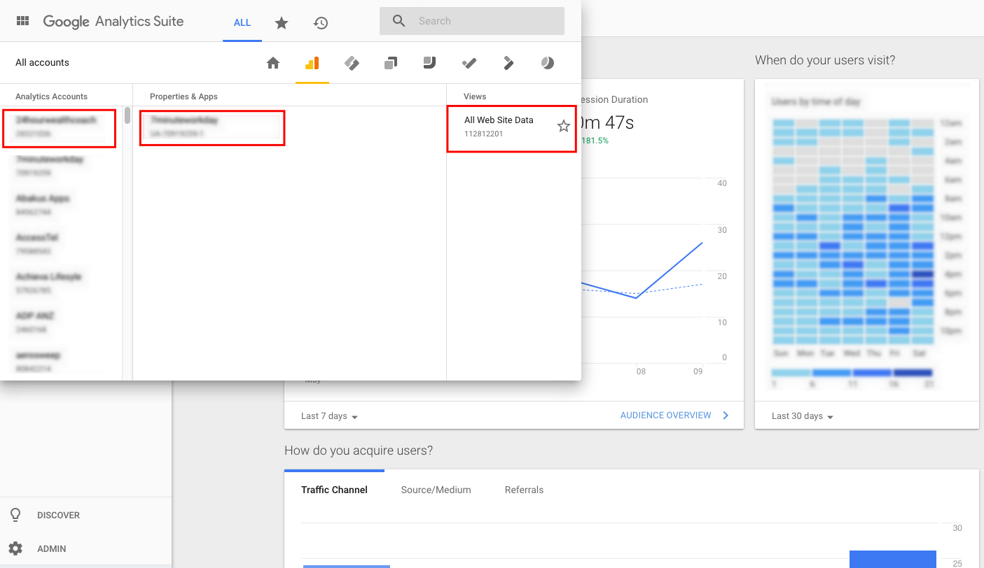 How to Grant Your &Mine Dashboard Access to Google Analytics